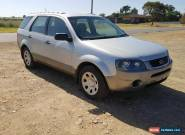 2008 FORD TERRITORY TX SY AUTO 97KM WAGON 7 SEATER LIGHT DAMAGE REPAIRABLE  for Sale