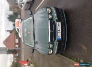 BRITISH RACING GREEN X TYPE JAGUAR V6 CAR SPARES REPAIRS  for Sale