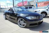 Classic 2008 BMW 135I E88 Black Automatic 6sp A Convertible for Sale