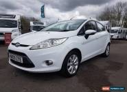 2009 FORD FIESTA ZETEC 82 WHITE 1.2 Petrol 5dr  for Sale
