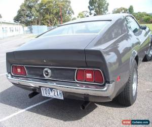 Classic MUSTANG FASTBACK 1971 for Sale