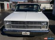 1987 Chevrolet C-10 base for Sale