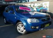 2010 Ford Territory SY Mkii TS (4x4) Blue Automatic 6sp A Wagon for Sale