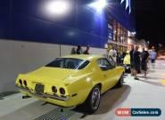 71 Camaro LS1 6spd 12 bolt 4wdiscs A/Cond mustang impala chevelle monaro gts gt for Sale
