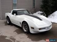 1981 Chevrolet Corvette Base Coupe 2-Door for Sale