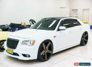 2013 Chrysler 300 MY12 SRT8 White Automatic 5sp A Sedan for Sale