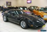 Classic 1979 Chevrolet Corvette C3 Black Automatic A Targa for Sale