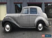 Bentley mark 6 - 1949 model black and silver sedan MK6 MKIV for Sale