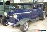 Classic DODGE 1929 SEDAN RAT ROD REGISTERED APPROVED NOT CHEV,FORD.HOT ROD NO RESERVE for Sale