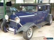 DODGE 1929 SEDAN RAT ROD REGISTERED APPROVED NOT CHEV,FORD.HOT ROD NO RESERVE for Sale