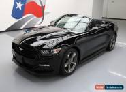 2015 Ford Mustang V6 Convertible 2-Door for Sale