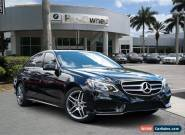 2016 Mercedes-Benz E-Class Base Sedan 4-Door for Sale