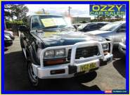 1996 Toyota Landcruiser GXL (4x4) Green Manual 5sp M Wagon for Sale