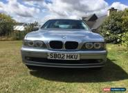 BMW520i SE AUTO 4 DOORS SALOON PETROL CAR, FOR SPARES AND REPAIRS for Sale