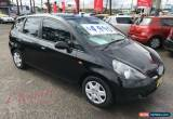 Classic 2002 Honda Jazz GLi Black Automatic A Hatchback for Sale