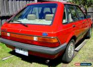 1982 FORD LASER KA GHIA 1.5L AUTOMATIC RED 5 DOOR HATCH AIR-CONDITIONING NO REG for Sale