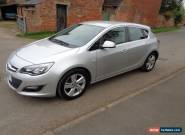 VAUXHALL ASTRA SRI 2.0 CDTI AUTO SILVER 5 DOOR 2013 (13) for Sale