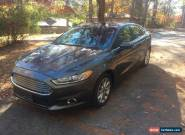 2017 Ford Fusion SE Sedan 4-Door for Sale