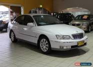 2004 Holden Statesman WL V6 White Automatic 5sp A Sedan for Sale