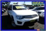 Classic 2010 Mitsubishi Triton MN MY10 GLX White Automatic 4sp A Double Cab Utility for Sale