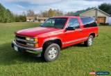 Classic Chevrolet: Blazer K1500 for Sale