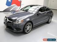 2014 Mercedes-Benz E-Class 4Matic Coupe 2-Door for Sale