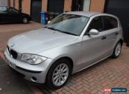 BMW ONE SERIES 1 118D ES SILVER SPORT HATCHBACK 5DR DIESEL MANUAL  for Sale