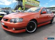 2004 Ford Falcon BA XR8 Orange Automatic 4sp A Sedan for Sale