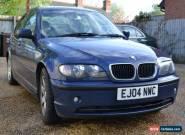 2004 BMW 320d Blue Saloon MOT failure! for Sale