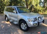 2002 Mitsubishi Pajero NM Exceed LWB (4x4) Silver Automatic 5sp A Wagon for Sale