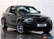 2011 BMW 1 Series M Coupe Petrol black Manual for Sale
