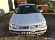 2003 1.6 VOLKSWAGEN GOLF MATCH SILVER for Sale