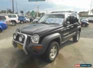 2002 Jeep Cherokee KJ Sport (4x4) Manual 5sp M Wagon for Sale
