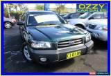 Classic 2004 Subaru Forester MY04 X Special Edition Green Manual 5sp M Wagon for Sale