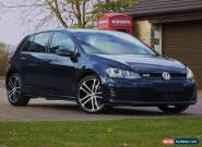 2014/14 VOLKSWAGEN GOLF 2.0 GTD 184 SAT NAV 5 DOOR 6 SPEED MANUAL FVWSH 1 OWNER for Sale