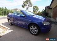 2002 Holden Astra TS Convertible for Sale