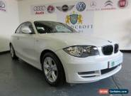 BMW 1 SERIES 2.0 118D ES 2010 Diesel Automatic in White for Sale