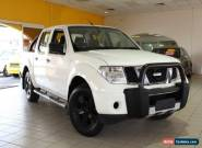 2007 Nissan Navara D40 ST-X White Manual 6sp M Utility for Sale