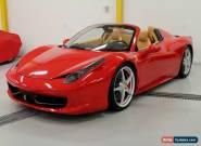 2013 Ferrari 458 for Sale