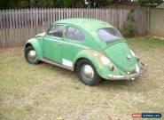 1958 VW Beetle Type 1 - German build for Sale