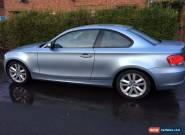 BMW 1 series 118D 2.0L E82 2010 SE  for Sale