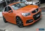 Classic 2013 Holden Commodore VF SS Orange Manual 6sp M Sedan for Sale