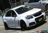Classic 2013 Holden Commodore VF SS White Manual 6sp M Sedan for Sale