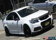 2013 Holden Commodore VF SS White Manual 6sp M Sedan for Sale