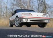 1989 Ford Mustang GT Convertible 2-Door for Sale