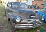 Classic 1948 Chevrolet Other 4door sedan for Sale