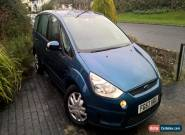 Ford S Max Blue People Carrier MPV 7 seats good runner but scruffy cosmetically  for Sale