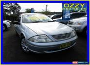 2000 Ford Falcon AU Forte Silver Automatic 4sp A Sedan for Sale