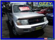 2002 Mitsubishi Pajero NM GLS LWB (4x4) Silver Automatic 5sp A Wagon for Sale