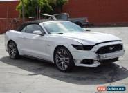 2017 Ford Mustang GT Convertible for Sale